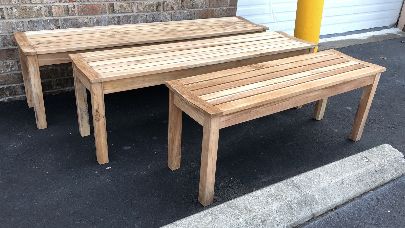 teak outdoor bench fairfax va