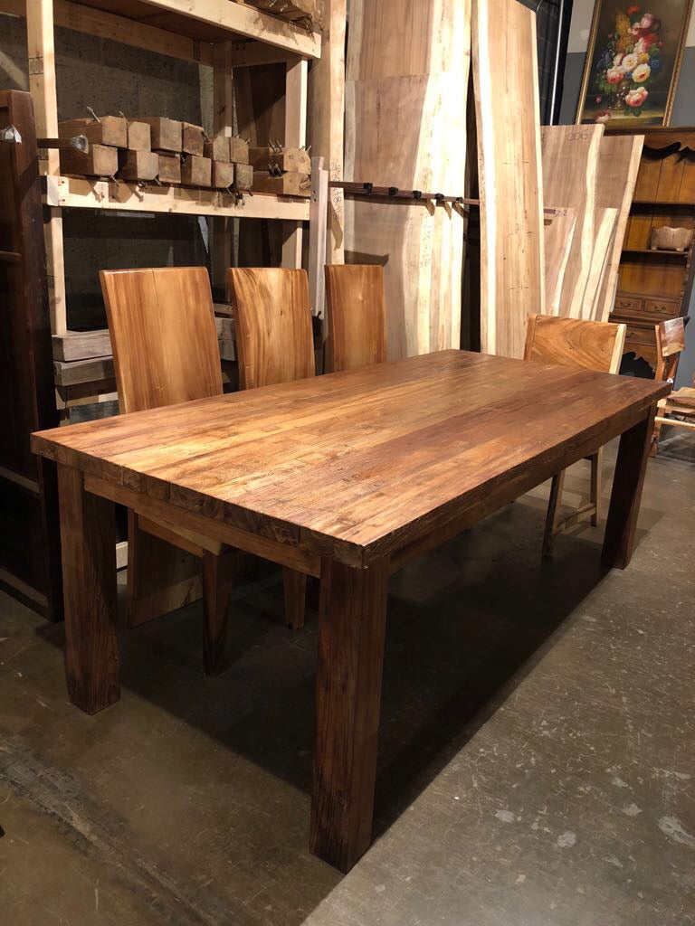 reclaimed wood table fairfax va