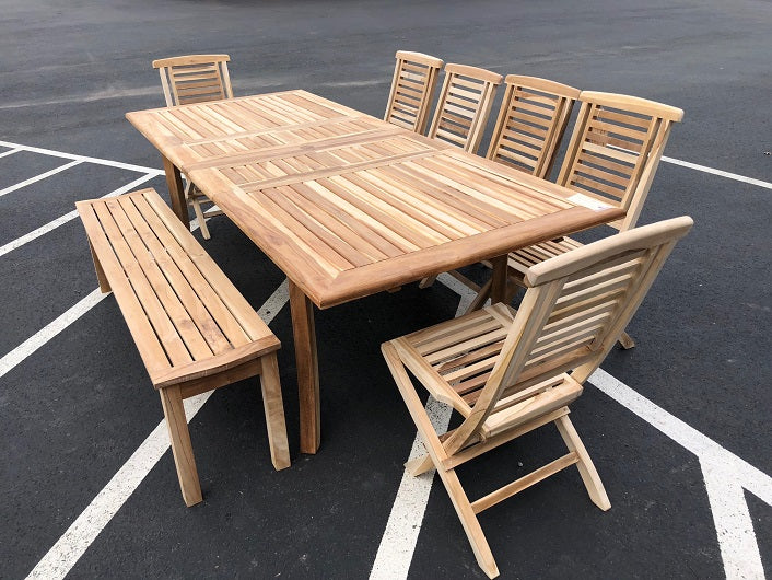 sale outdoor teak dining table alexandria va dc md