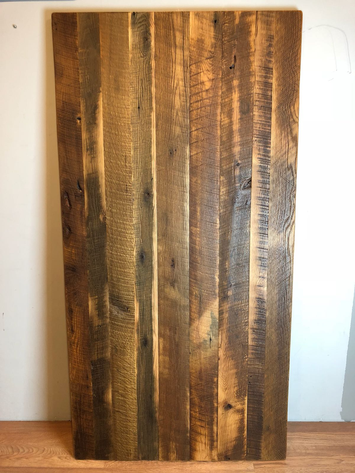 solid oak barn wood table top