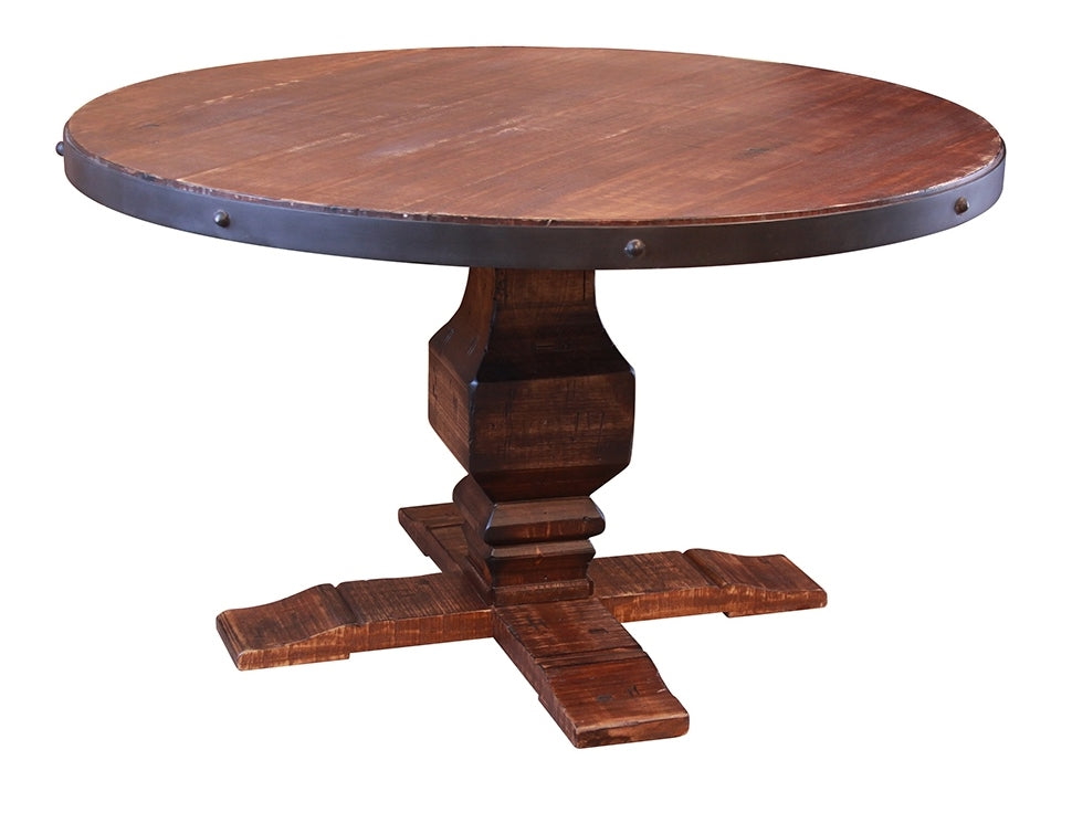 solid wood dining table round northern va