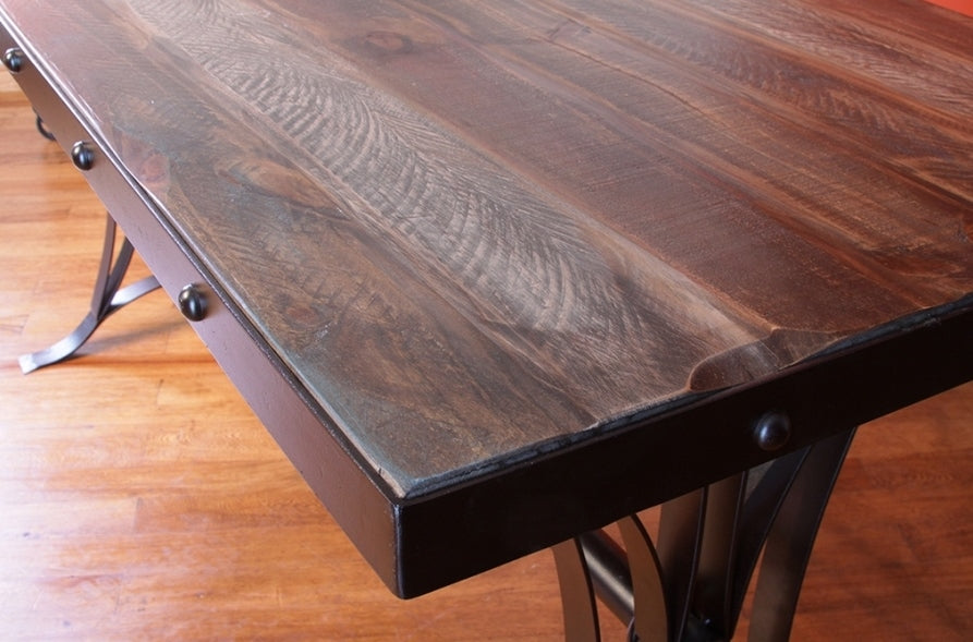 solid wood counter height table dc