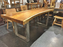 live edge wood slab table fairfax va