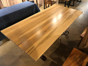 ambrosia tiger maple dining table
