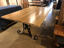 ambrosia maple wood dining table