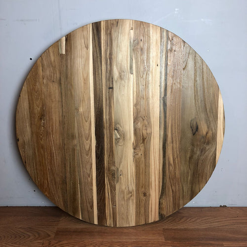 Reclaimed Teak Round Table Top 30