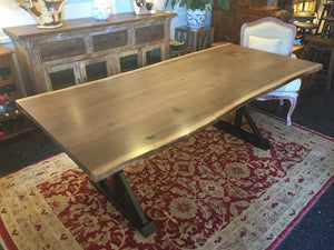"Live Edge Walnut Dining Table 84"" x 39"""