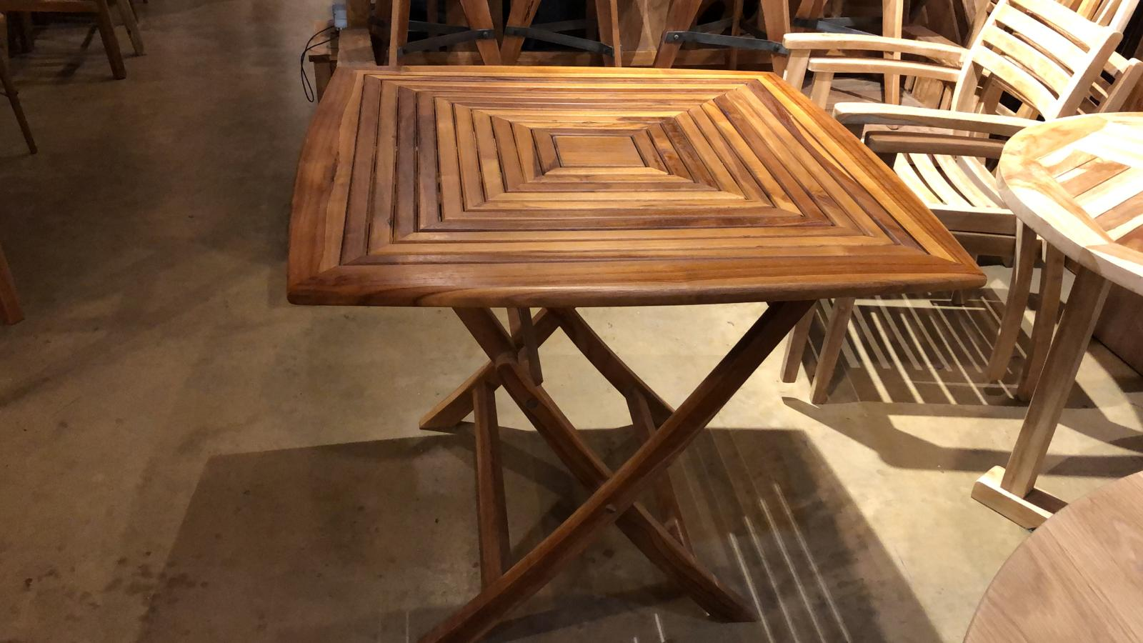 Teak Wood Folding Table for Garden and Patio 35