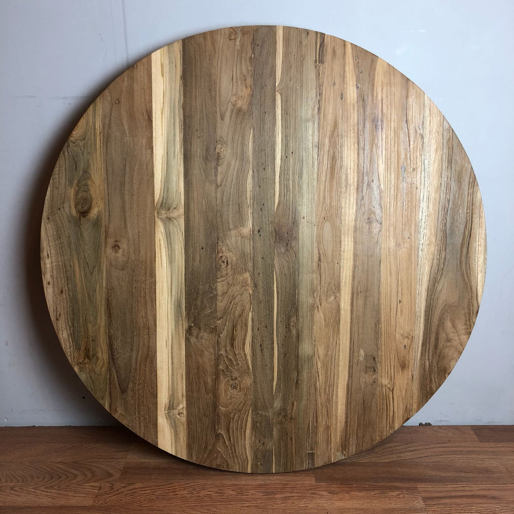 Reclaimed Teak Round Table Top 36
