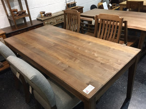 Maple Wood Dining Table 72 x 35