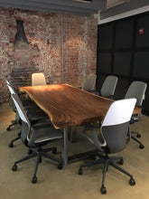 Conference Room Live Edge Table