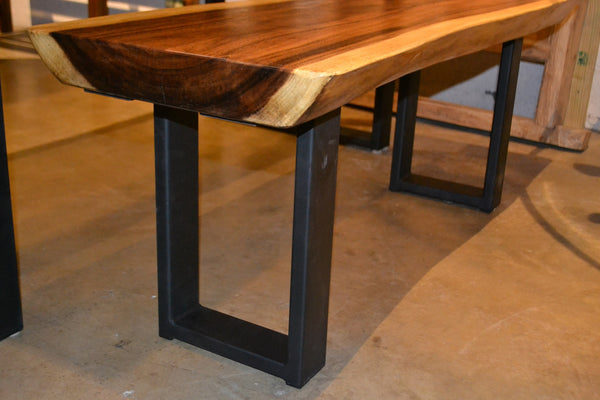 Natural Live Edge Wood Slab Dining Table R Home Furniture