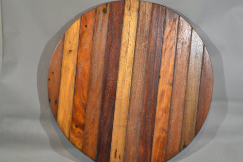 Reclaimed Wood Round Top