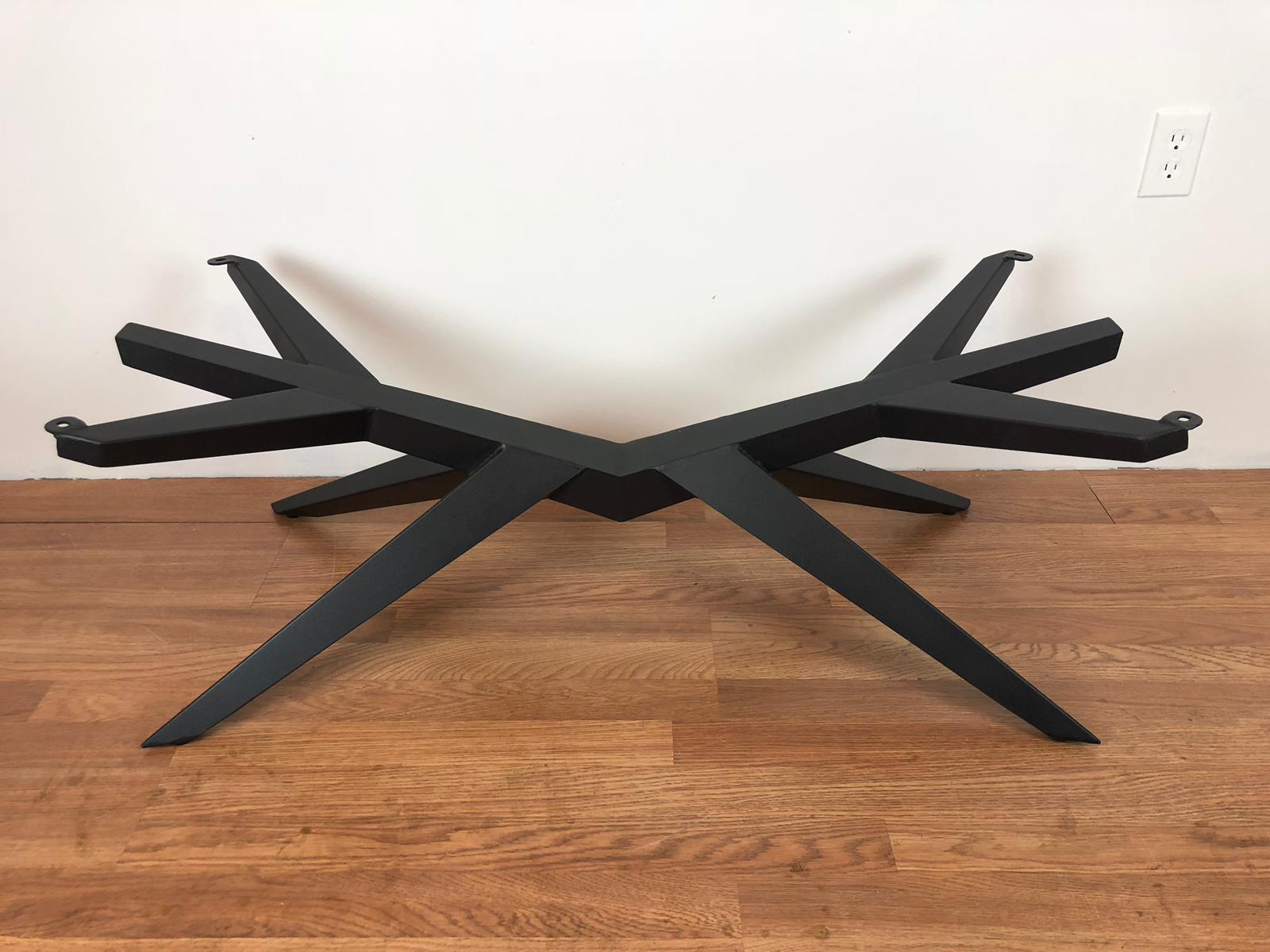 Mantis metal coffee table base
