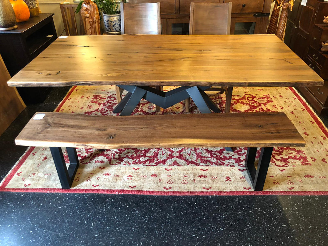 American black walnut table 83
