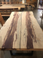Live edge tamarind wood slab bookmatch 99""