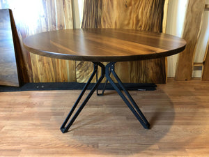Star pedestal metal dining table base