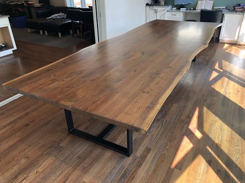 American black walnut table 15'