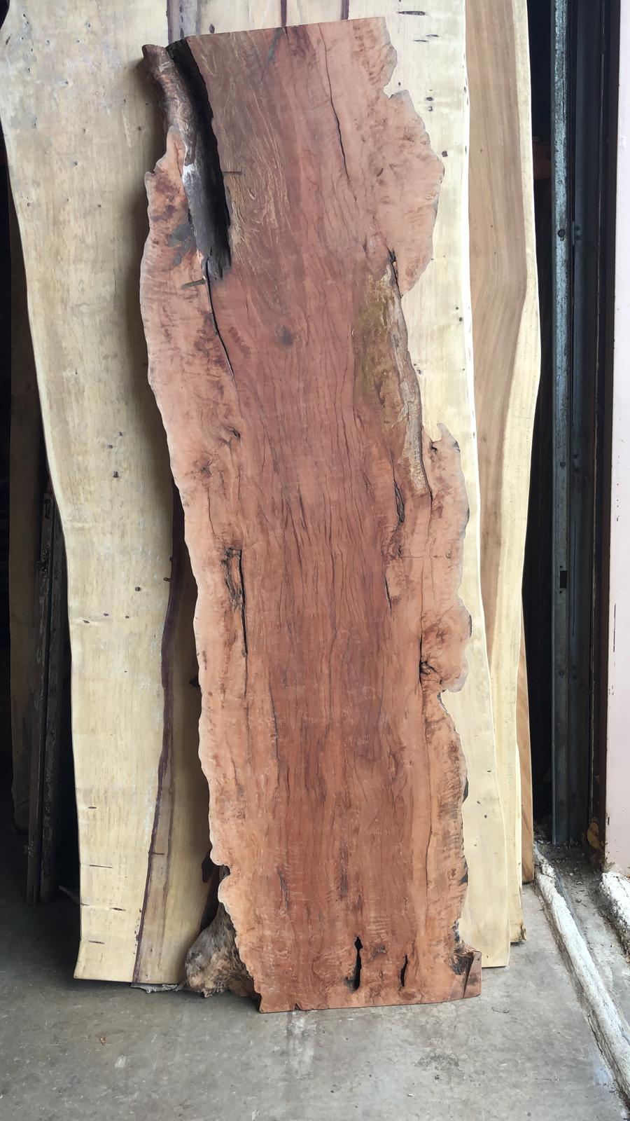 Rustic live edge wood slab 86