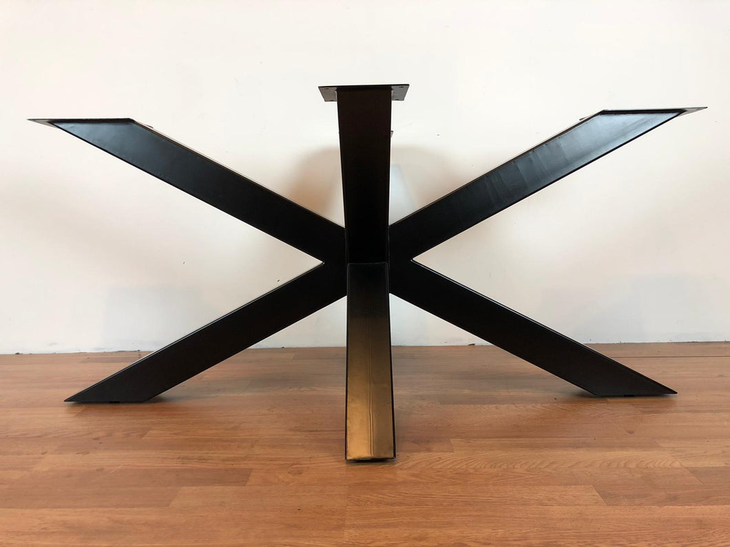Palm metal dining table base 62