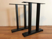 Pi metal dining table base 2x4 tubing