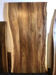 Live edge acacia wood slab 79""