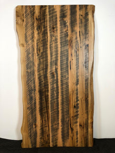 "Live edge barn wood oak 84"" x 42"" for kitchen or dining table top"