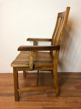Whu Dining Arm Chair with Finishing
