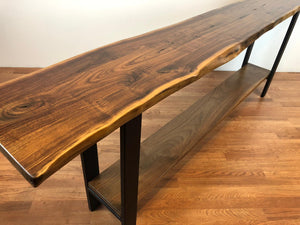 live edge furniture design