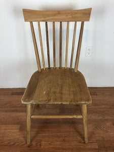 Vita Spindle Dining Chair Unfinished