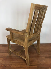Whu Dining Arm Chair Unfinished