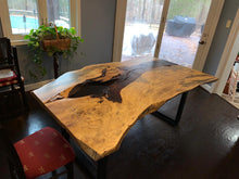 Tamarind slab dining table