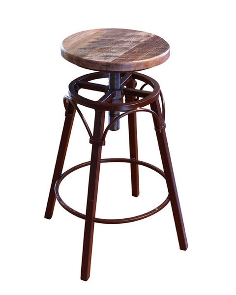 IFD968BS2430 Adjustable Height 24quot 30quot Wood Stool with  : barantique1grande from www.r-homefurniture.com size 480 x 600 jpeg 21kB