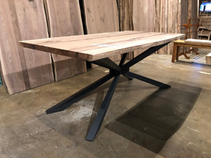 Spider metal dining table base