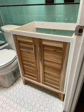 Custom vanity and bathroom cabinet