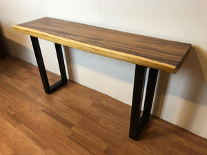 custom live edge furniture store near me