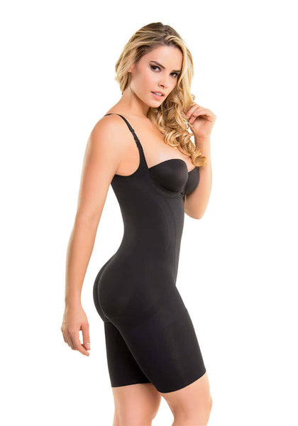1585 - Seamless Thermal Action Weight Loss Hourglass Bodysuit