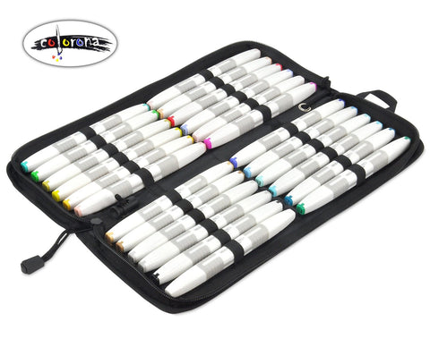 Premium Double Ended Alcohol Based Art Markers, 24 Colors Set.