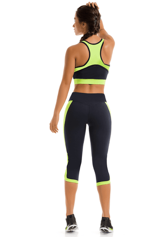 Blue Lime Capri