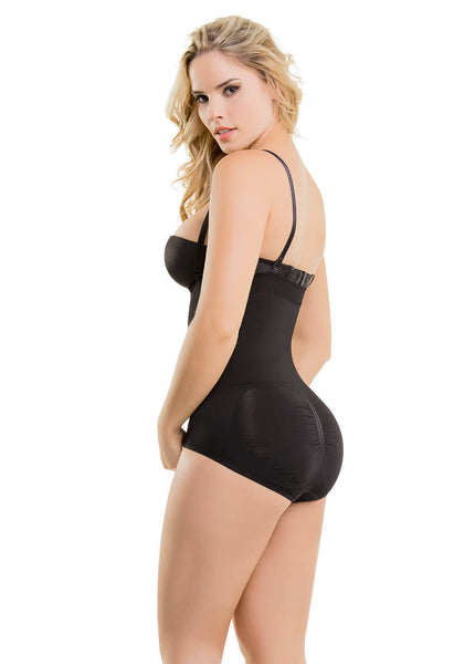 1595 / 1596  - High-Waist Tummy Control Shaper in Boyshort -Thong