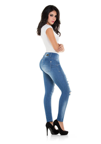 DASHA - Colombian Push Up Jeans Butt Lifter Fajas Levanta Cola Jean Fajate Virtual Sensuality