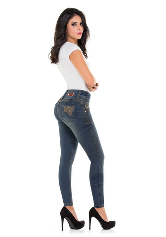 ELISE - Colombian Push Up Jeans Butt Lifter Fajas Levanta Cola Jean Fajate Virtual Sensuality