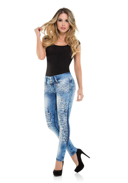 LUCIA - Colombian Push Up Jeans by Bonita Bella