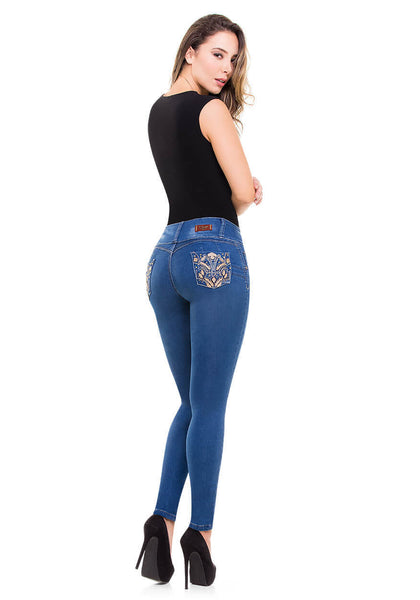 RUBY - Colombian Push Up Jeans by Bonita Bella