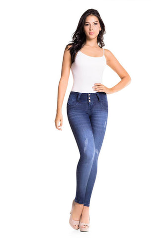 ZENDA - Colombian Push Up Jeans by Bonita Bella