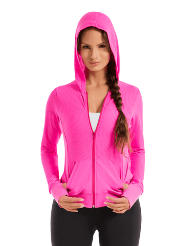 High Performance Micro Pierced jacket