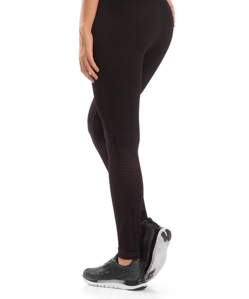 932 - Ultra Compression and Abdomen Control Fit Legging Deep Black
