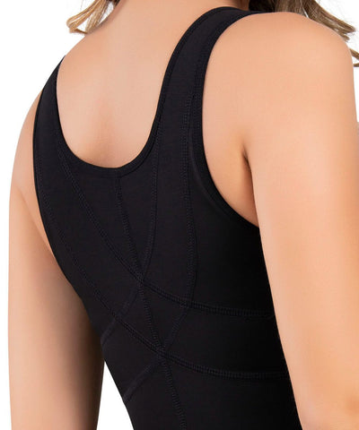 478 / 479 - Open-Bust Back Support Compressive Body Shaper