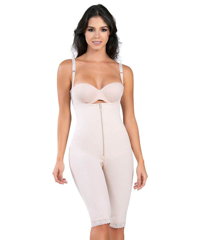 490 - The High- Control Open-Bust Contouring Bodysuit