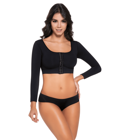 1589 - Front Closure Arm & Bust Control Bra